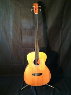 Martin B1 Acoustic Bass 1997 Fretless